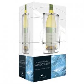 Bar Craft Acrylic Double Walled Wine Cooler