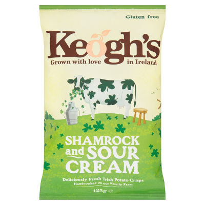 Keogh's Shamrock & Sour Cream