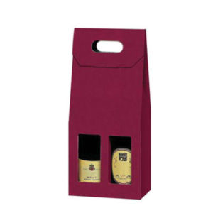 2 Bottle Card Gift Box