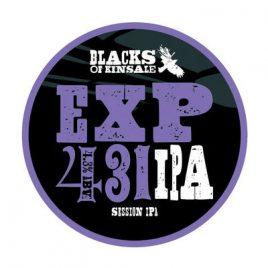 Blacks Exp 431 Session IPA