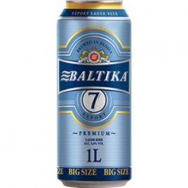 baltika 7 litre can