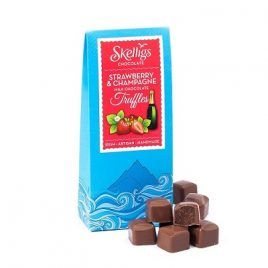 skelligs strawberry champagne truffles