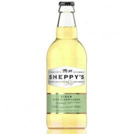sheppys elderflower cider