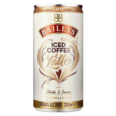 baileys iced coffee latte