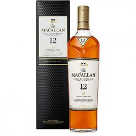 The Macallan 12 Year Old Sherry Oak cask